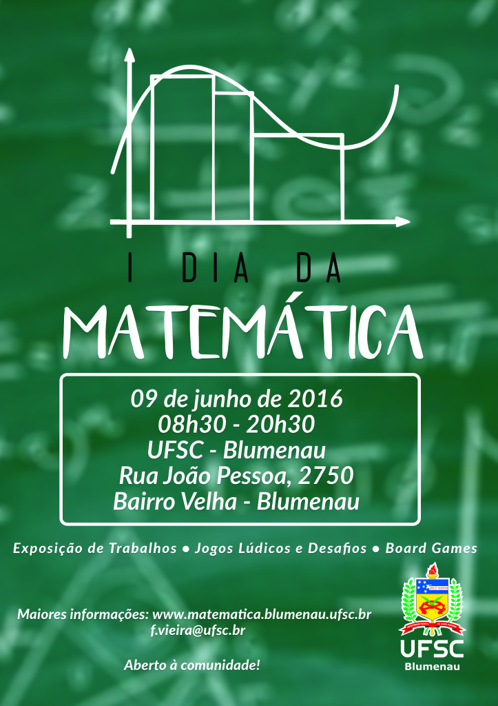 Dia da Matemática @ Auditório UFSC-BNU